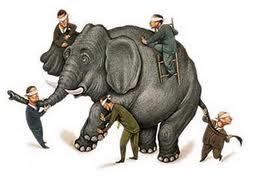 éléphant et aveugles
